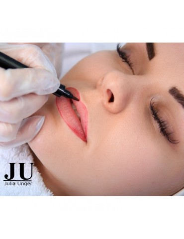 Permanent Make Up auf  Lippen in Rheine